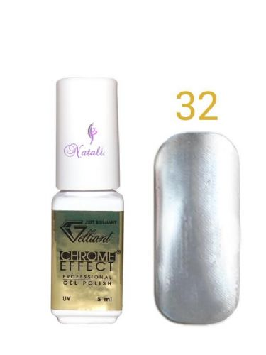 Gelliant Mirror Chrome Polish nº 032 Black Gold de 9 ml.